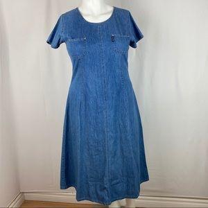 Regatta New York Demin Maxi Dress Size Extra Large
